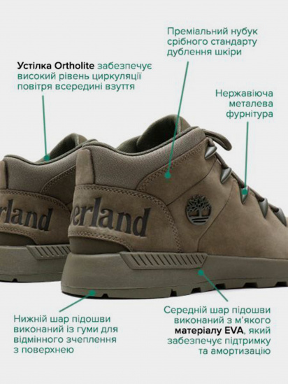 Черевики  чоловічі Timberland TB0A1YKBA58 розміри взуття, 2017