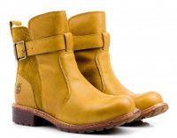 Женские ботинки желтые качество, 2017