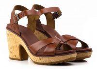 женская обувь Timberland коричневого цвета приобрести, 2017