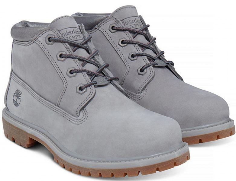 Купить Ботинки женские Timberland Nellie KHukka WPF TG2036, Серый