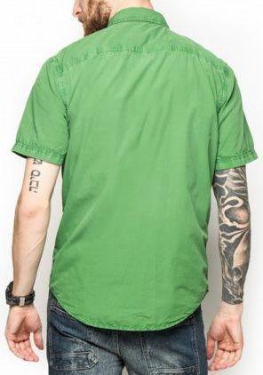 Рубашка с коротким рукавом мужские Timberland модель TH4893 приобрести, 2017
