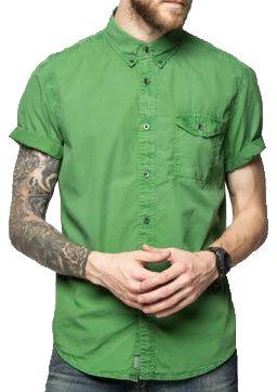 Рубашка с коротким рукавом мужские Timberland модель TH4893 купить, 2017