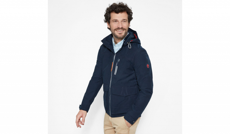 Куртка мужские Timberland HOODED PIER JACKET DARK SAPPHI TH5109 продажа, 2017