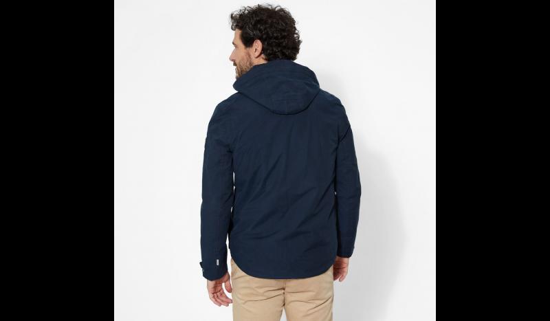 Куртка мужские Timberland HOODED PIER JACKET DARK SAPPHI TH5109 одежда бренда, 2017