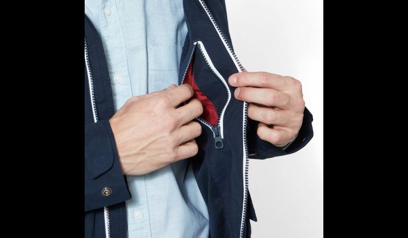 Куртка мужские Timberland HOODED PIER JACKET DARK SAPPHI TH5109 размерная сетка одежды, 2017
