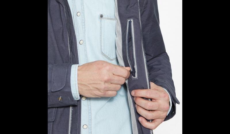 Куртка для мужчин Timberland HOODED PIER JACKET EBONY TH5111 одежда бренда, 2017
