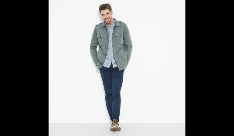 Куртка мужские Timberland STONYBROOK OVERSHIRT GREENHOUS TH5114 фото одежды, 2017