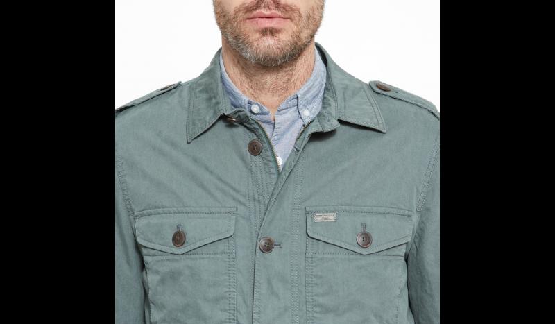 Куртка мужские Timberland STONYBROOK OVERSHIRT GREENHOUS TH5114 размерная сетка одежды, 2017