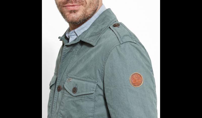 Куртка мужские Timberland STONYBROOK OVERSHIRT GREENHOUS TH5114 размеры одежды, 2017