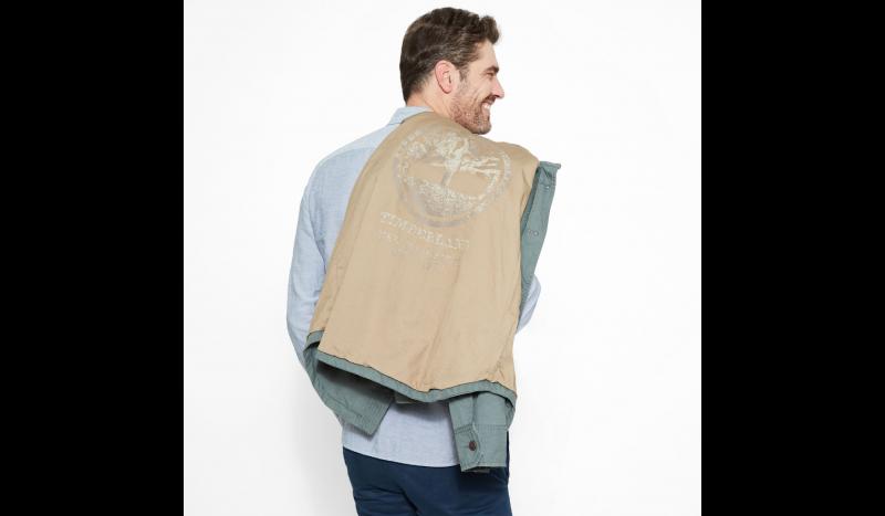 Куртка мужские Timberland STONYBROOK OVERSHIRT GREENHOUS TH5114 купить в Украине, 2017