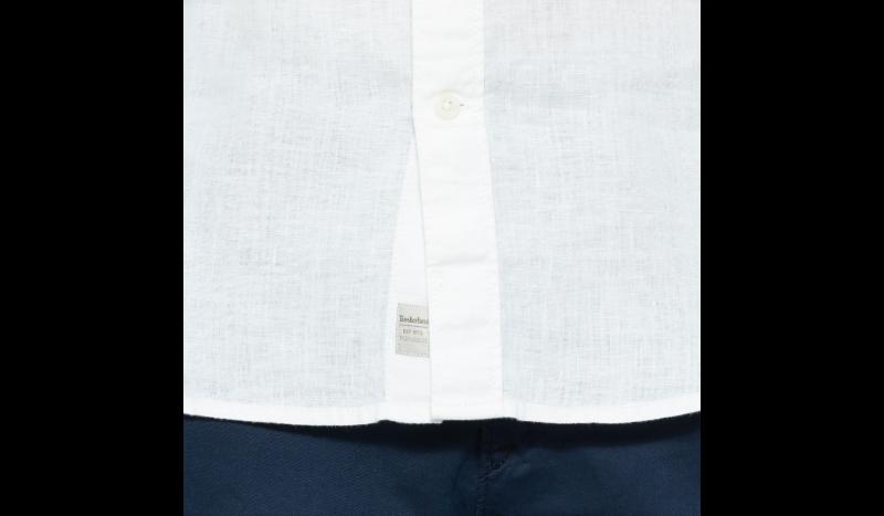 Рубашка с коротким рукавом мужские Timberland SHORT SLEEVE LINEN SHIRT PICKE TH5138 модная одежда, 2017
