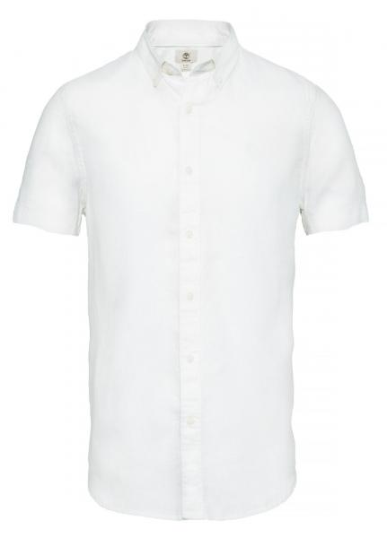Рубашка с коротким рукавом мужские Timberland SHORT SLEEVE LINEN SHIRT PICKE TH5138 размерная сетка одежды, 2017