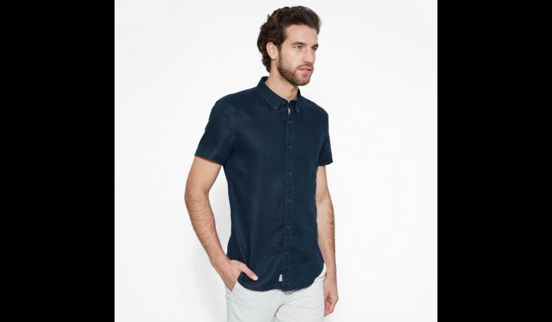 Рубашка с коротким рукавом мужские Timberland модель TH5139 приобрести, 2017