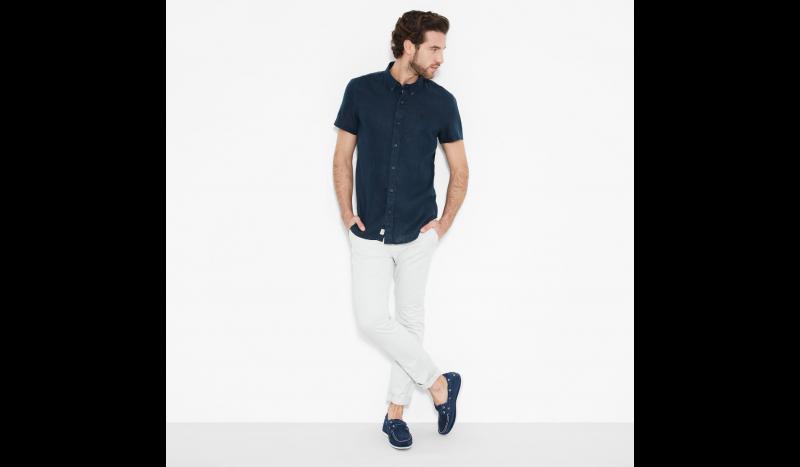 Рубашка с коротким рукавом мужские Timberland модель TH5139 характеристики, 2017