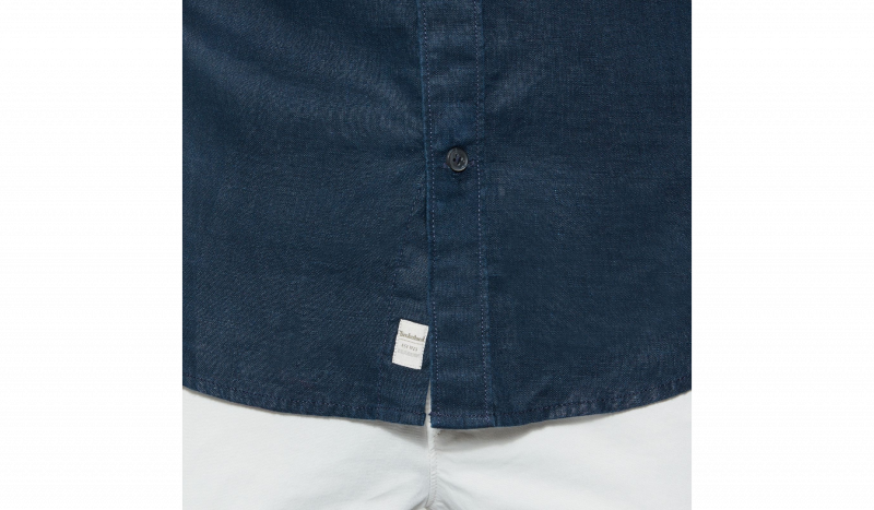Рубашка с коротким рукавом мужские Timberland модель TH5139 качество, 2017