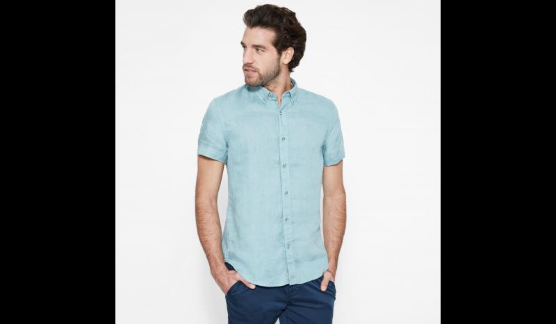 Timberland Рубашка с коротким рукавом мужские модель TH5140 приобрести, 2017