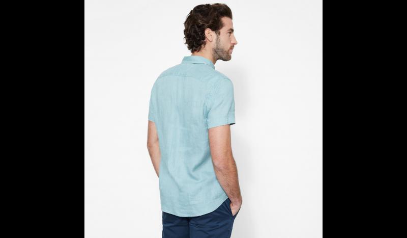 Timberland Рубашка с коротким рукавом мужские модель TH5140 цена, 2017