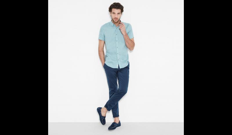 Timberland Рубашка с коротким рукавом мужские модель TH5140 характеристики, 2017