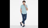Рубашка с коротким рукавом мужские Timberland модель TH5140 характеристики, 2017