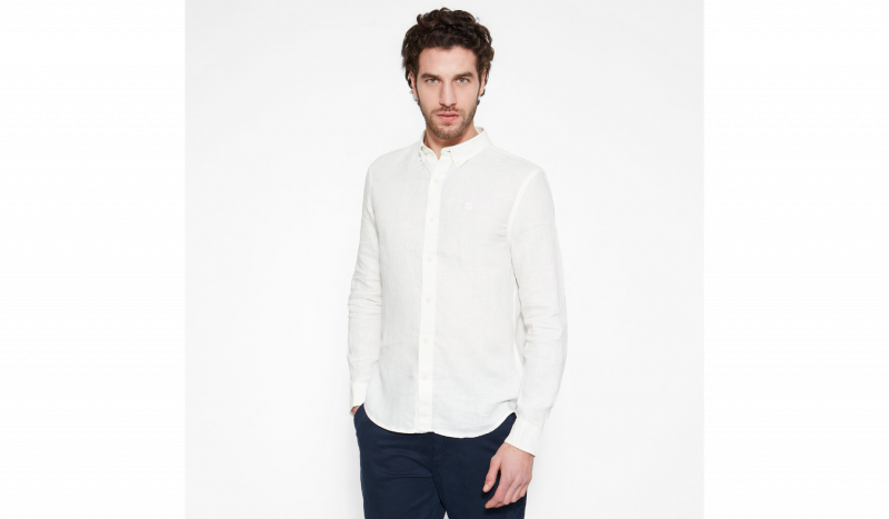 Рубашка с длинным рукавом мужские Timberland модель TH5141 купить, 2017
