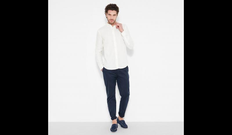 Рубашка с длинным рукавом мужские Timberland модель TH5141 цена, 2017