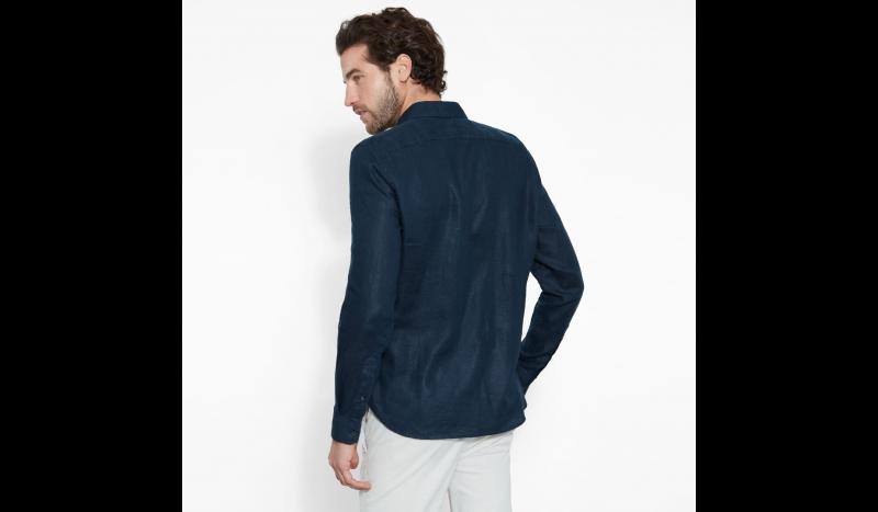 Рубашка с длинным рукавом мужские Timberland LONG SLEEVE RATTLE RIVER LINE TH5142 размерная сетка одежды, 2017