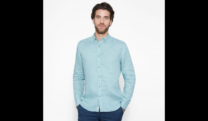 Timberland Рубашка с длинным рукавом мужские модель TH5143 купить, 2017