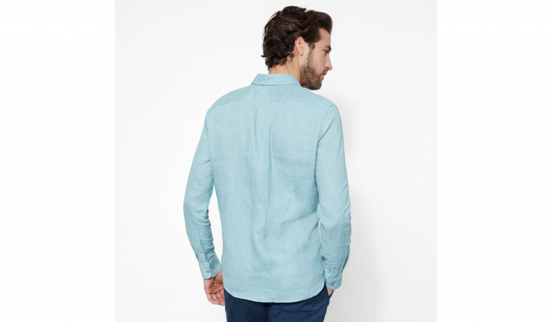 Timberland Рубашка с длинным рукавом мужские модель TH5143 приобрести, 2017
