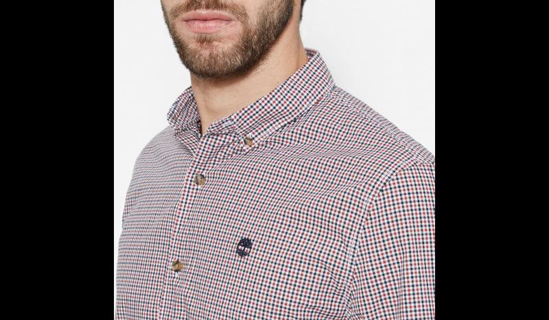 Рубашка с длинным рукавом для мужчин Timberland LONG SLEEVE SLIM RATTLE RVR G TH5144 модная одежда, 2017
