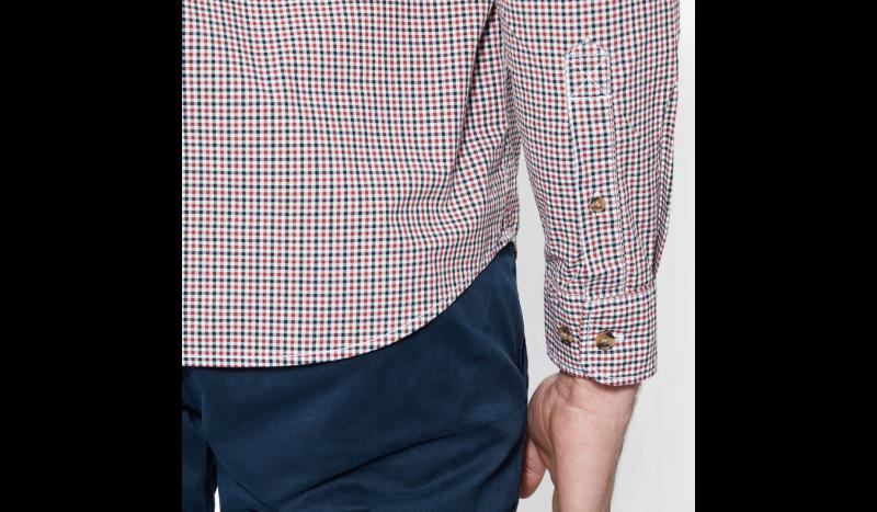 Рубашка с длинным рукавом для мужчин Timberland LONG SLEEVE SLIM RATTLE RVR G TH5144 купить онлайн, 2017