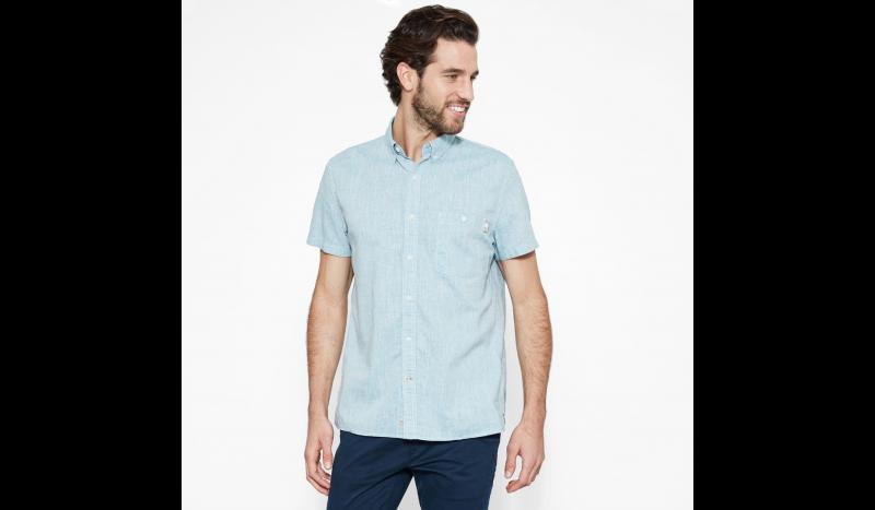 Timberland Рубашка с коротким рукавом мужские модель TH5146 приобрести, 2017