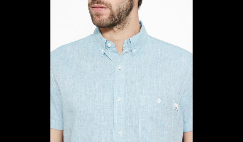 Timberland Рубашка с коротким рукавом мужские модель TH5146 отзывы, 2017