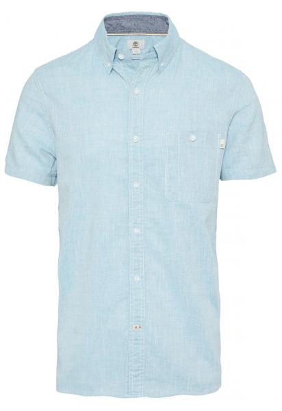 Купить Рубашка с коротким рукавом мужские модель TH5146, Timberland, Голубой