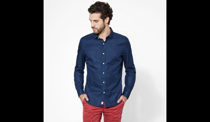 Рубашка с длинным рукавом мужские Timberland модель TH5159 купить, 2017