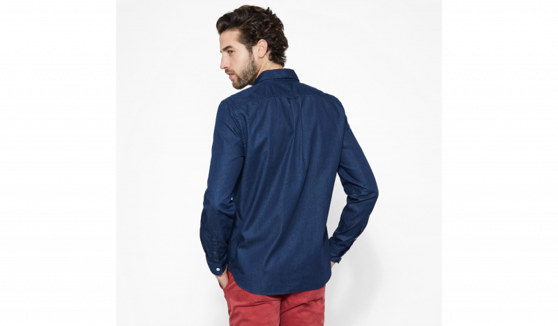 Рубашка с длинным рукавом мужские Timberland модель TH5159 приобрести, 2017