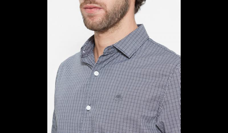 Рубашка с коротким рукавом мужские Timberland SHORT SLEEVE CHECK POPLIN EBON TH5164 в Украине, 2017