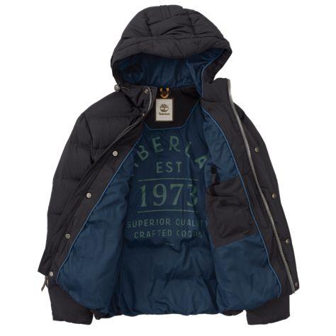 Куртка пуховая для мужчин Timberland Goose Eye Mountain Jacket TH5258 примерка, 2017