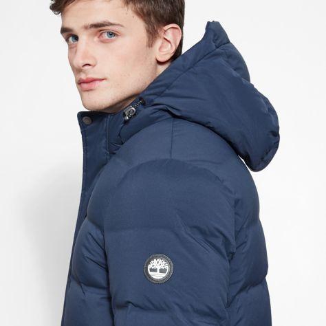 Куртка пуховая для мужчин Timberland Goose Eye Mountain Jacket TH5260 примерка, 2017