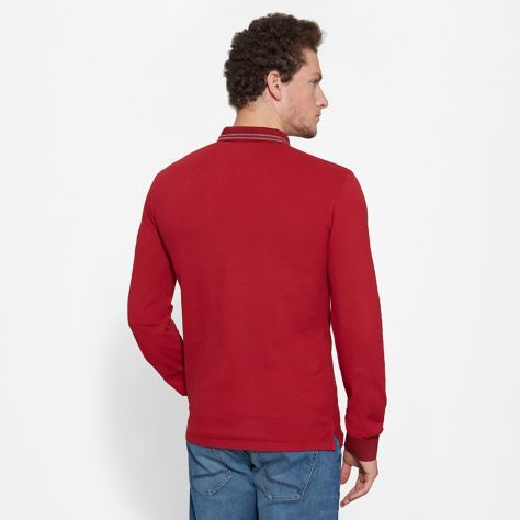 Поло с длинным рукавом мужские Timberland Eastham Polo TH5287 брендовая одежда, 2017