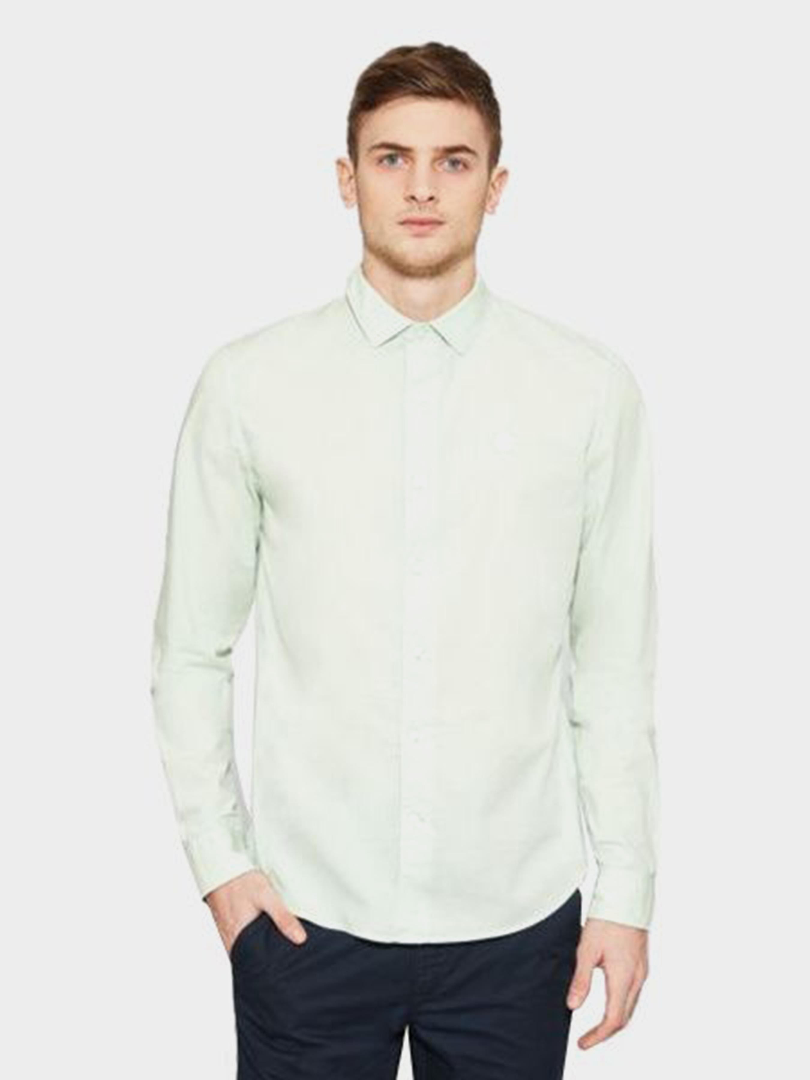 Купить Рубашка с длинным рукавом мужские модель TH5354, Timberland, Зеленый
