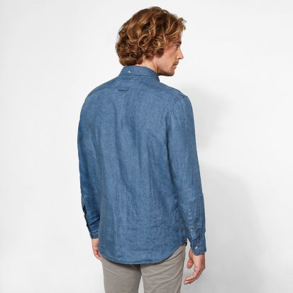 Рубашка с длинным рукавом мужские Timberland модель TH5380 цена, 2017