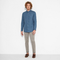 Рубашка с длинным рукавом мужские Timberland модель TH5380 отзывы, 2017