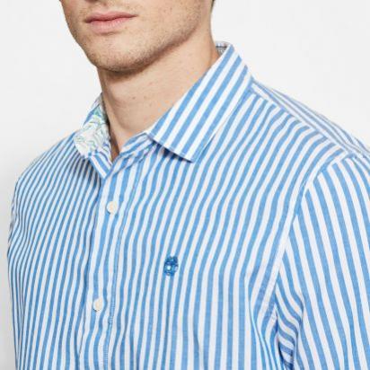 Рубашка с длинным рукавом мужские Timberland модель A1KHRJ47 качество, 2017
