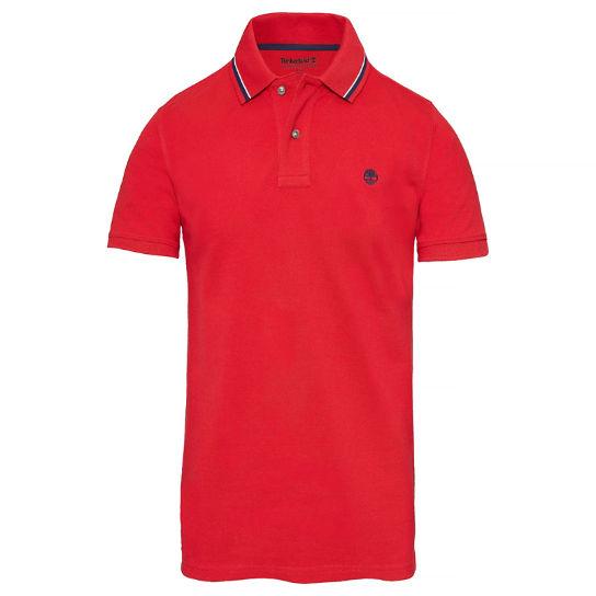 Купить Поло мужские модель TH5393, Timberland, Красный