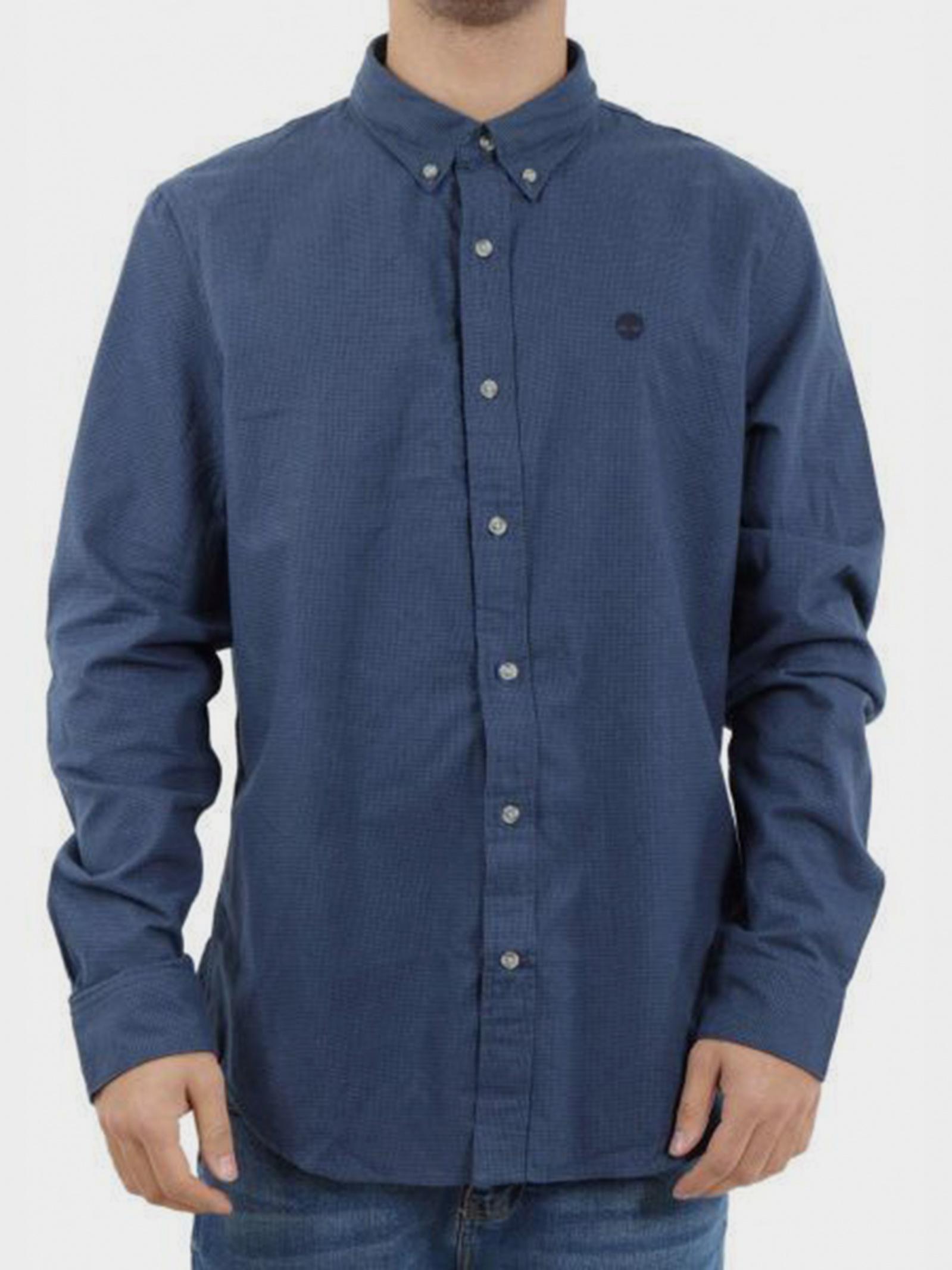 Рубашка мужские Timberland модель A1LQJB68 качество, 2017