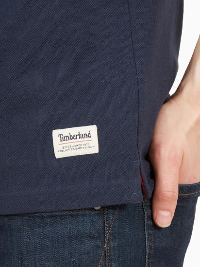 Поло з коротким рукавом Timberland Millers River Large Logo модель TB0A1O47433 — фото 4 - INTERTOP