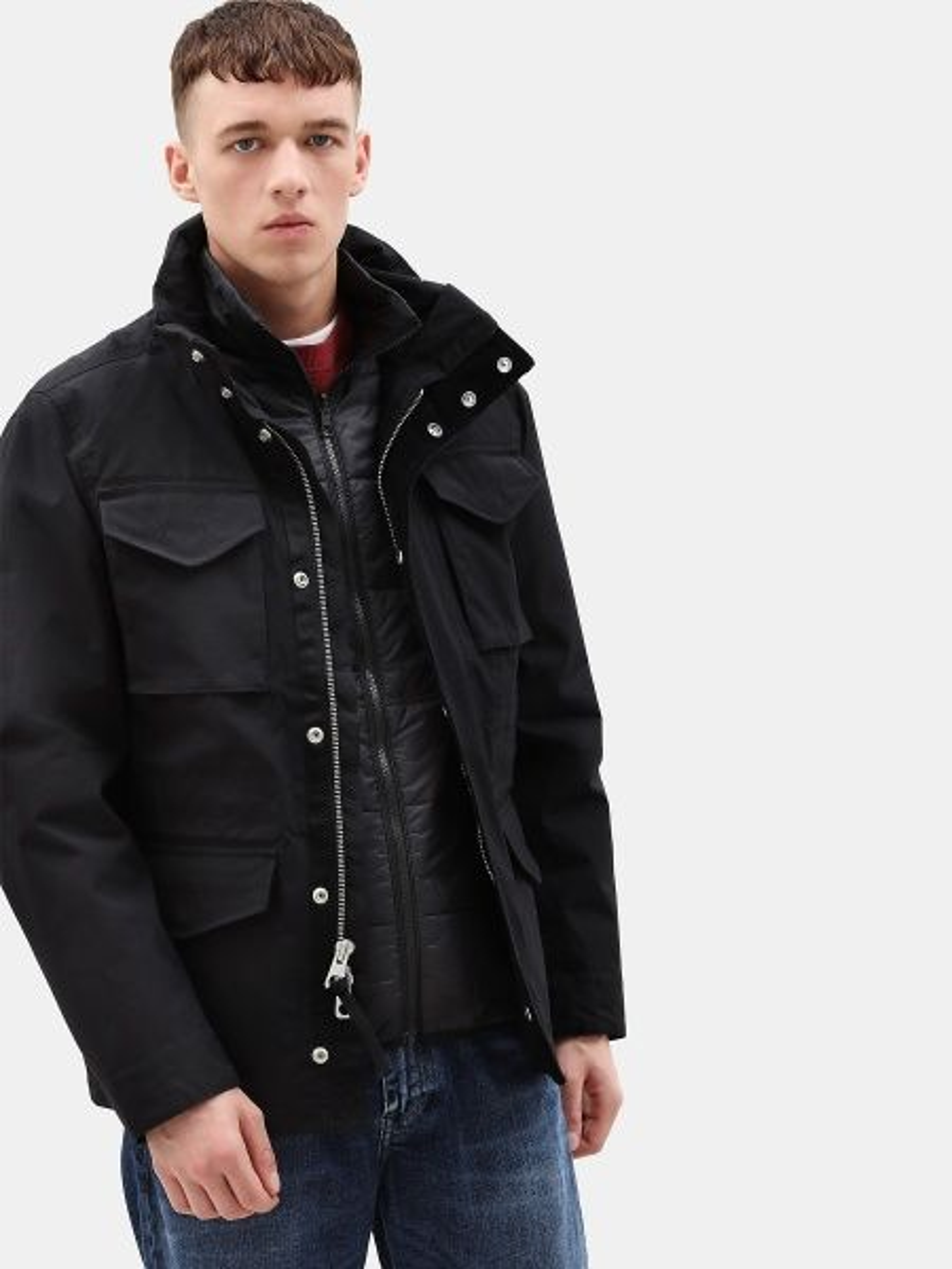 Куртка чоловіча Timberland модель TB0A1WTM001 - фото