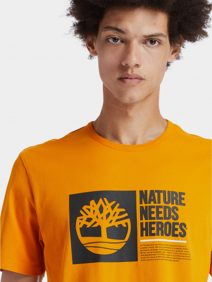 Футболка Timberland Nature Needs Heroes модель TB0A2CNJ804 — фото 4 - INTERTOP
