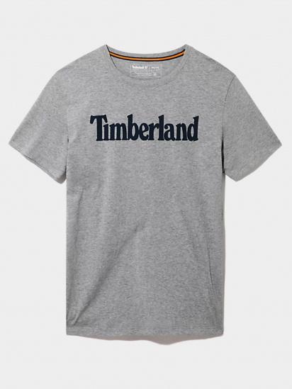 Футболка Timberland Short-Sleeve Logo модель TB0A2BRN052 — фото - INTERTOP
