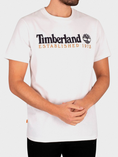 Футболка Timberland Outdoor Heritage Logo модель TB0A2CMA100 — фото 3 - INTERTOP